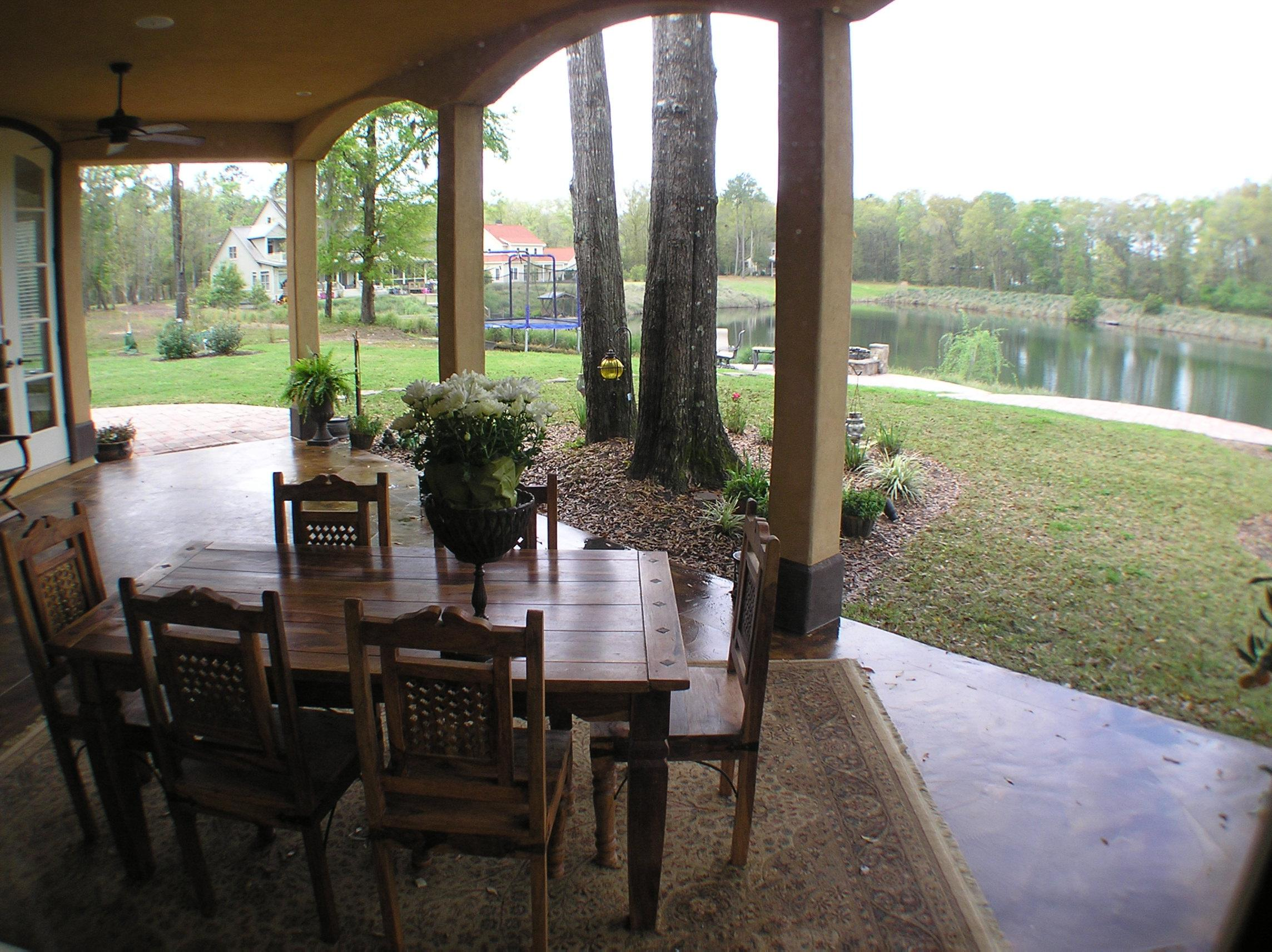 The outdoor living center